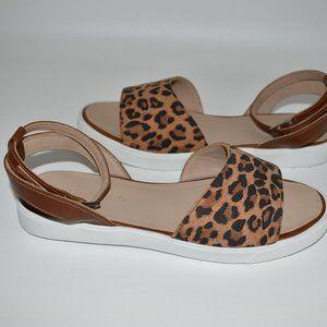 Elephantito Girl's New Cheetah Print Sandals US 2